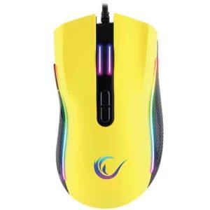 עכבר גיימינג Rampage SMX-R44 Yellow