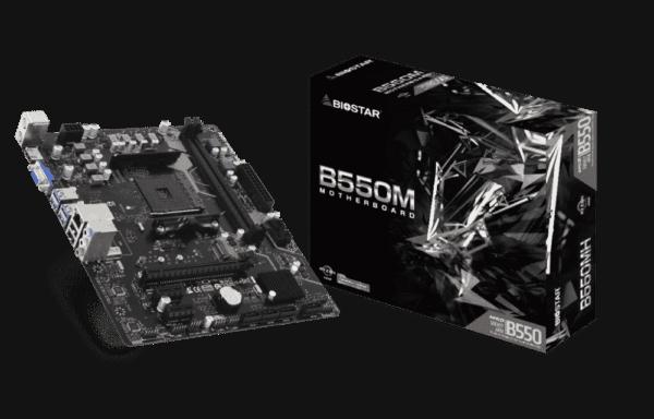 BioStar AMD B550MH mATX